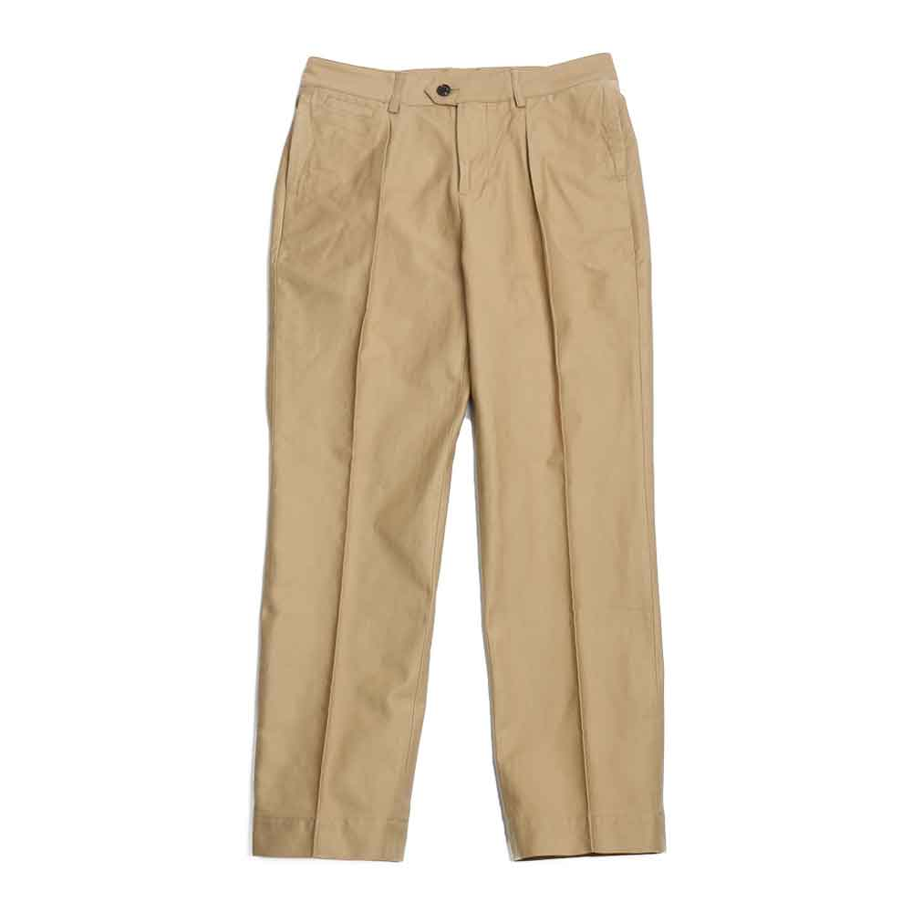 홀리선 Millspaugh One tuck Cotton Pants_BEIGE