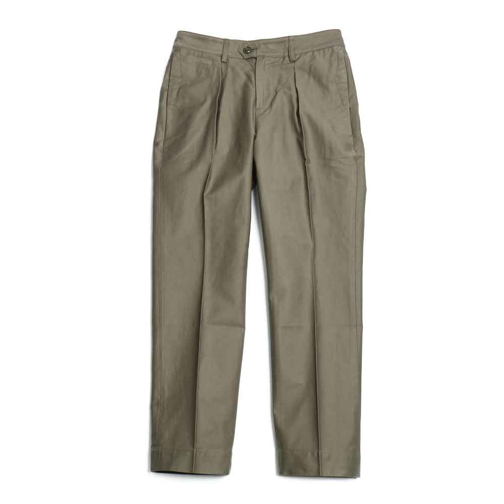 홀리선 Millspaugh One tuck Cotton Pants_OLIVE