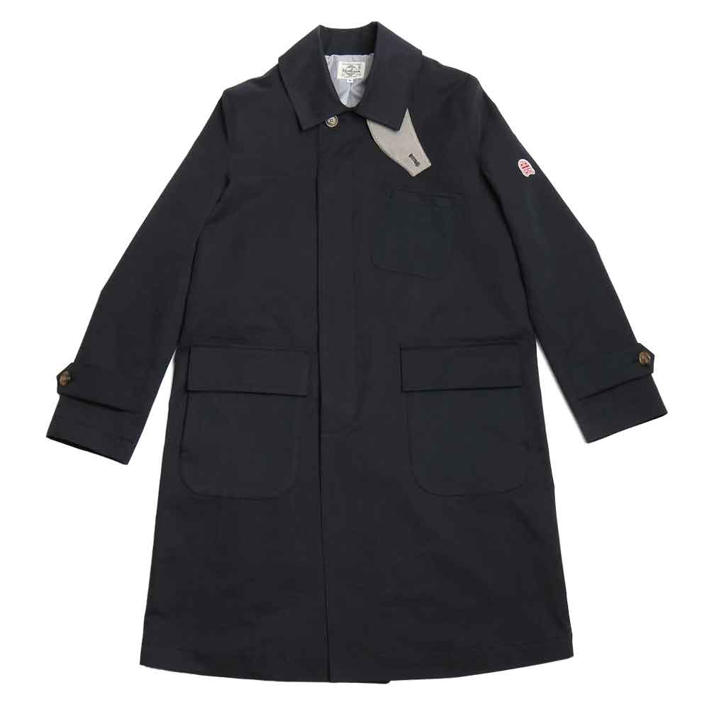홀리선 Lakeport Balmacaan Coat_NAVY