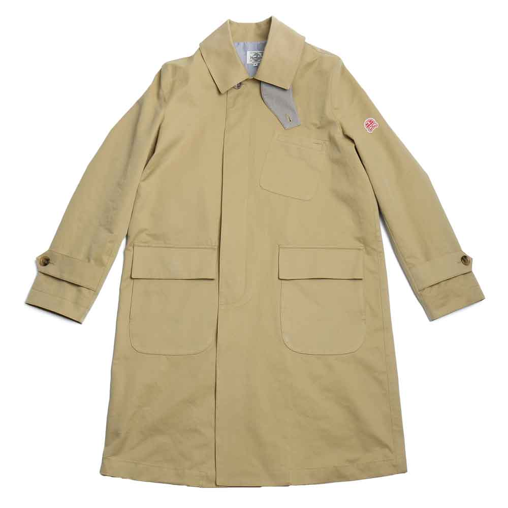 홀리선 Lakeport Balmacaan Coat_BEIGE