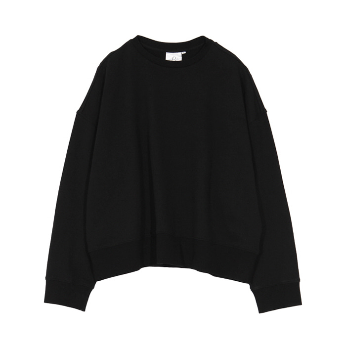 브라운야드 WIDE SWEAT SHIRT_BLACK