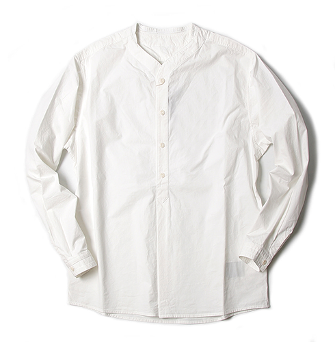 비헤비어 Baseball shirt_WHITE