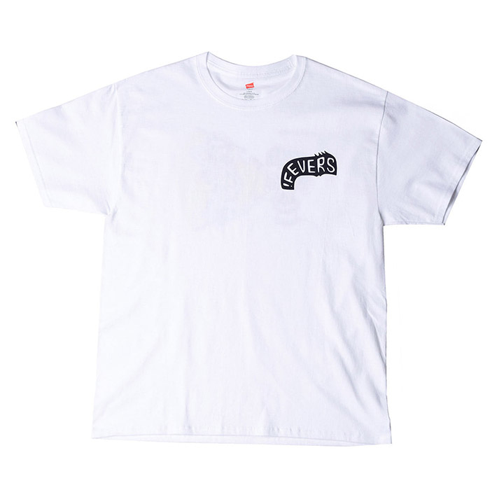 FEVERINC GENTS X-RAY TEE_WHITE