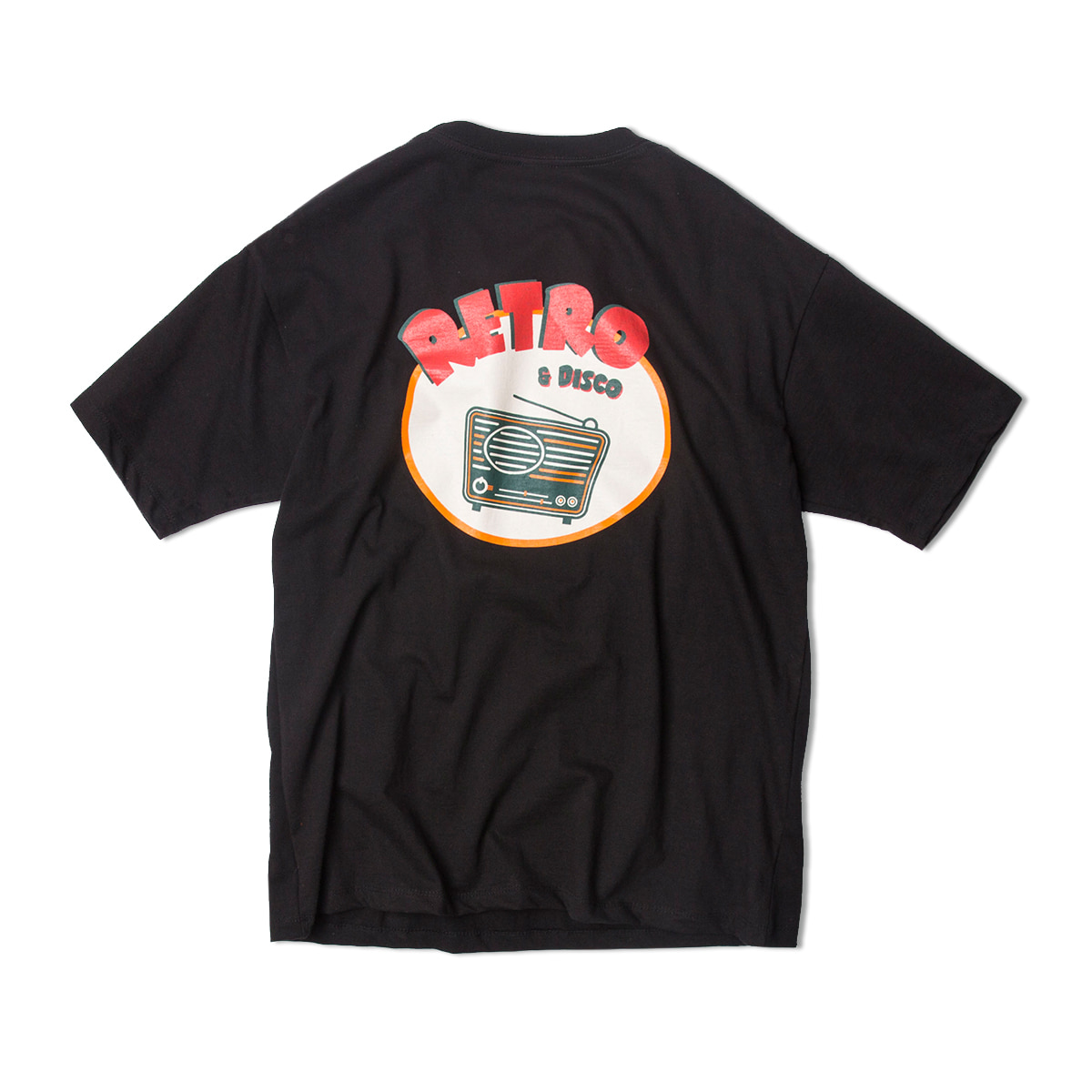 샌드파이퍼 RETRO T SHIRTS_Black