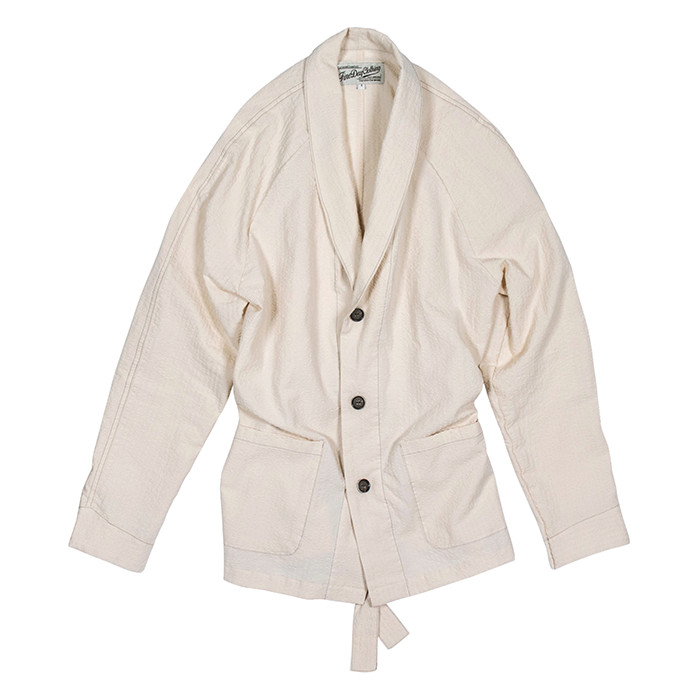 Fineday Clothing SEERSUCKER COMFORT JACKET_IVORY