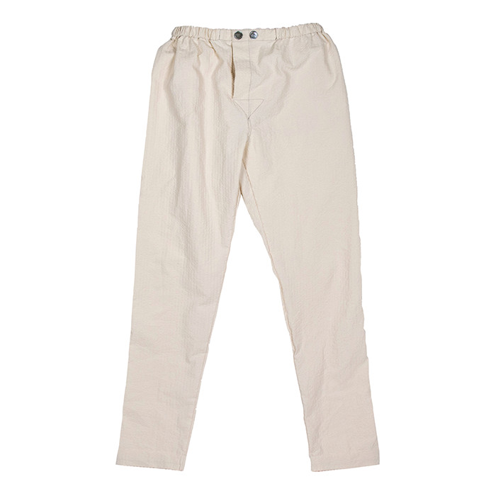 Fineday Clothing SEERSUCKER COMFORT PANTS_IVORY