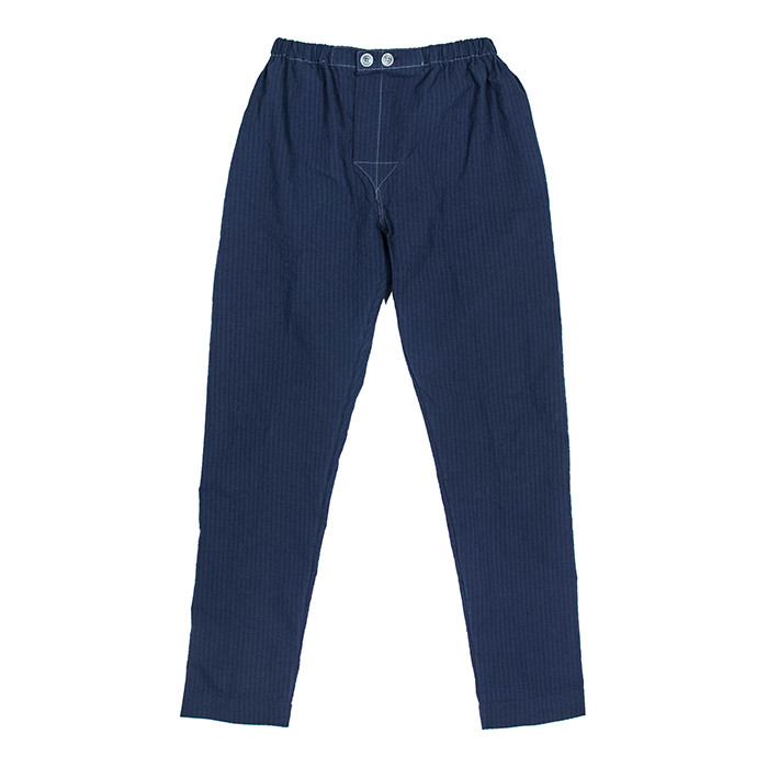 Fineday Clothing SEERSUCKER COMFORT PANTS_NAVY