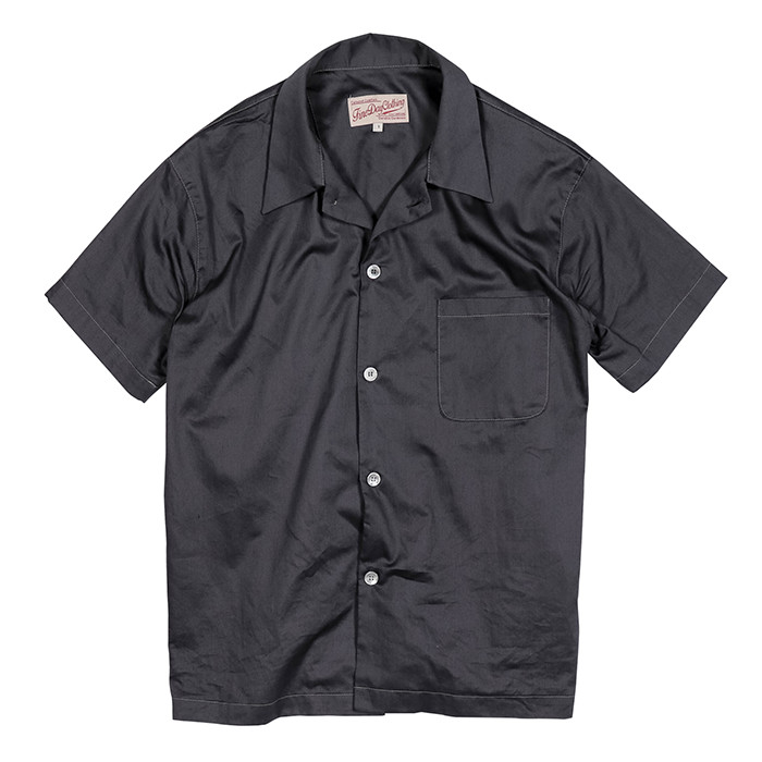 Fineday Clothing CLASSIC PAJAMA SHIRTS_CHACOAL