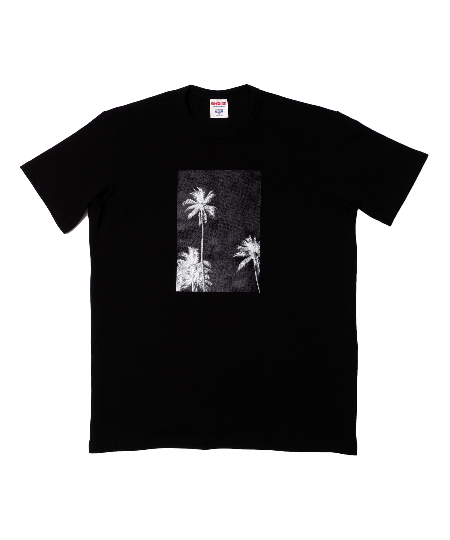 해버대셔리 PALM TREE SHORT SLEEVE_BLACK