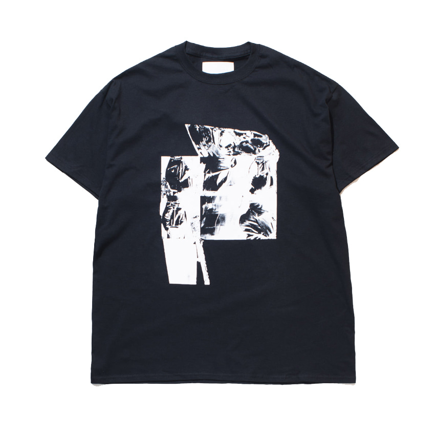 가쿠로 'UNTITLED #1' T-SHIRT_BLACK