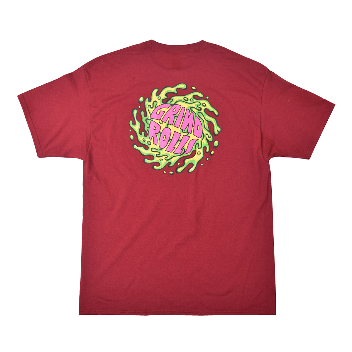 FEVERINC GRIND ROLL TEE_RED
