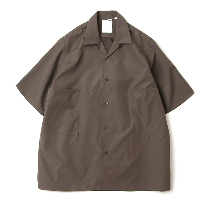 브라운야드 Convertible collar shirts_Olive
