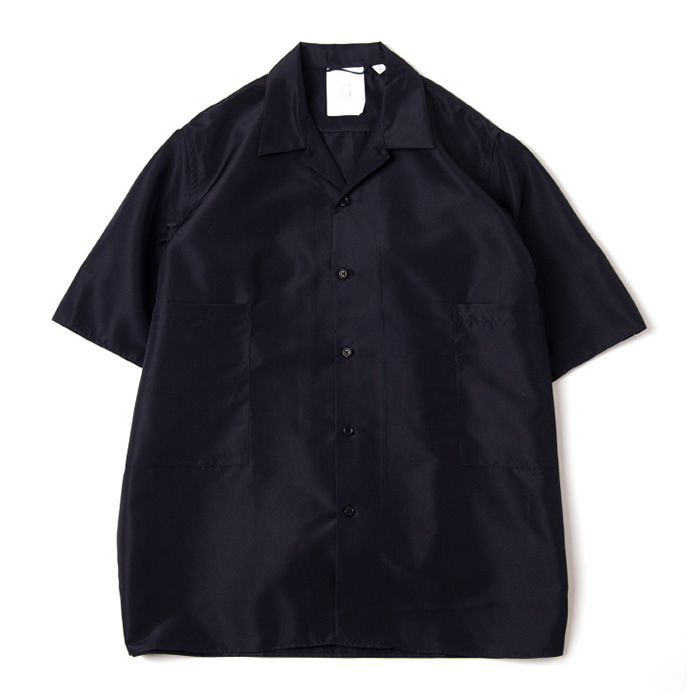 브라운야드 Convertible collar shirts_Navy