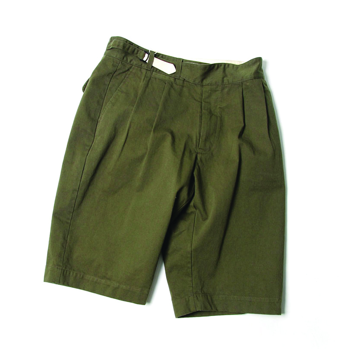 비헤비어 SUMMER HALF PANTS (KHAKI)