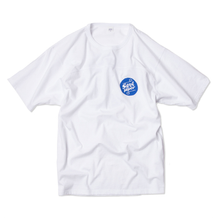 샌드파이퍼 AUTHENTIC LOGO T SHIRTS_WHITE