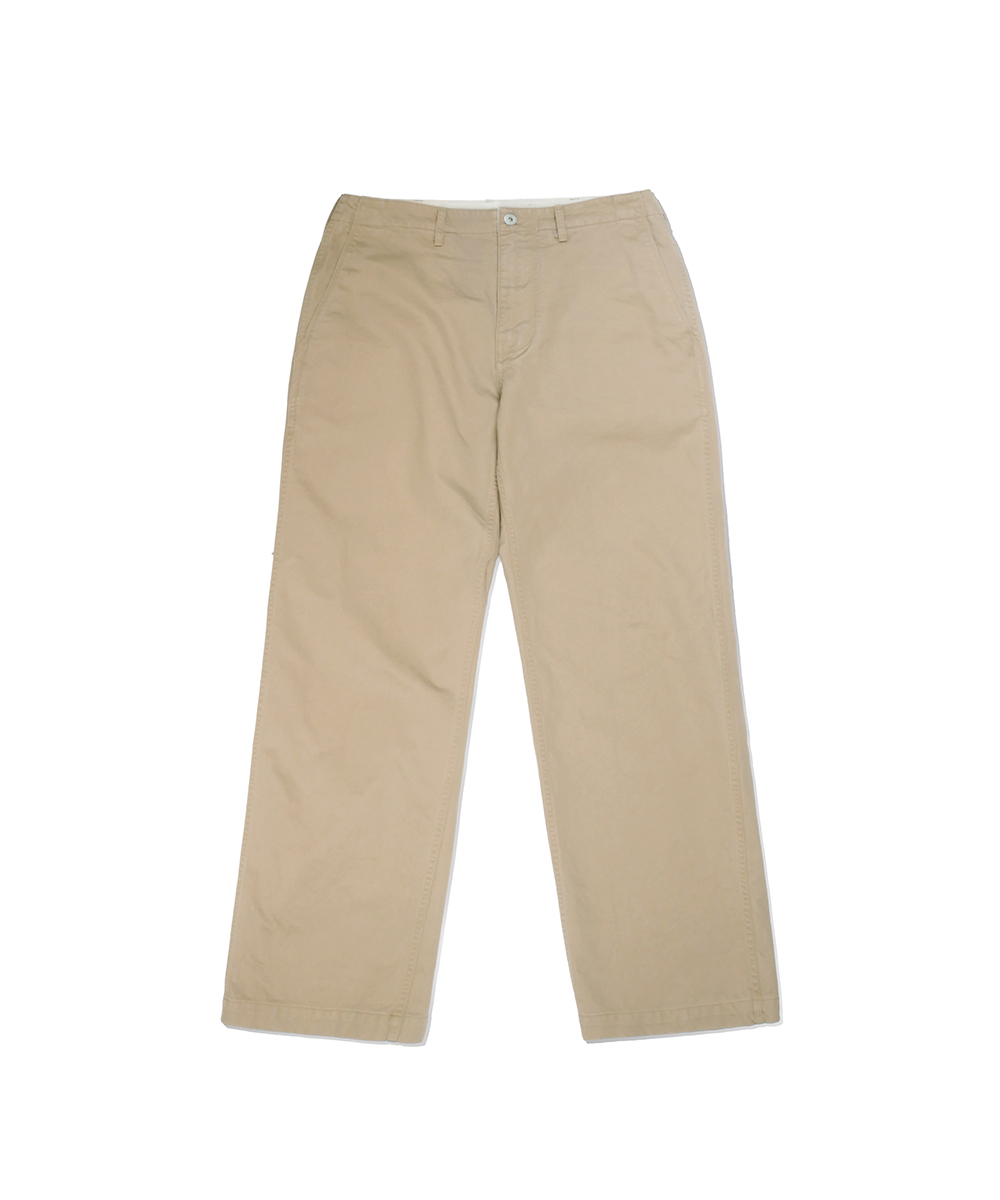 네이머클로딩_SET-UP OFFICER PANTS WASHEDVER_beige