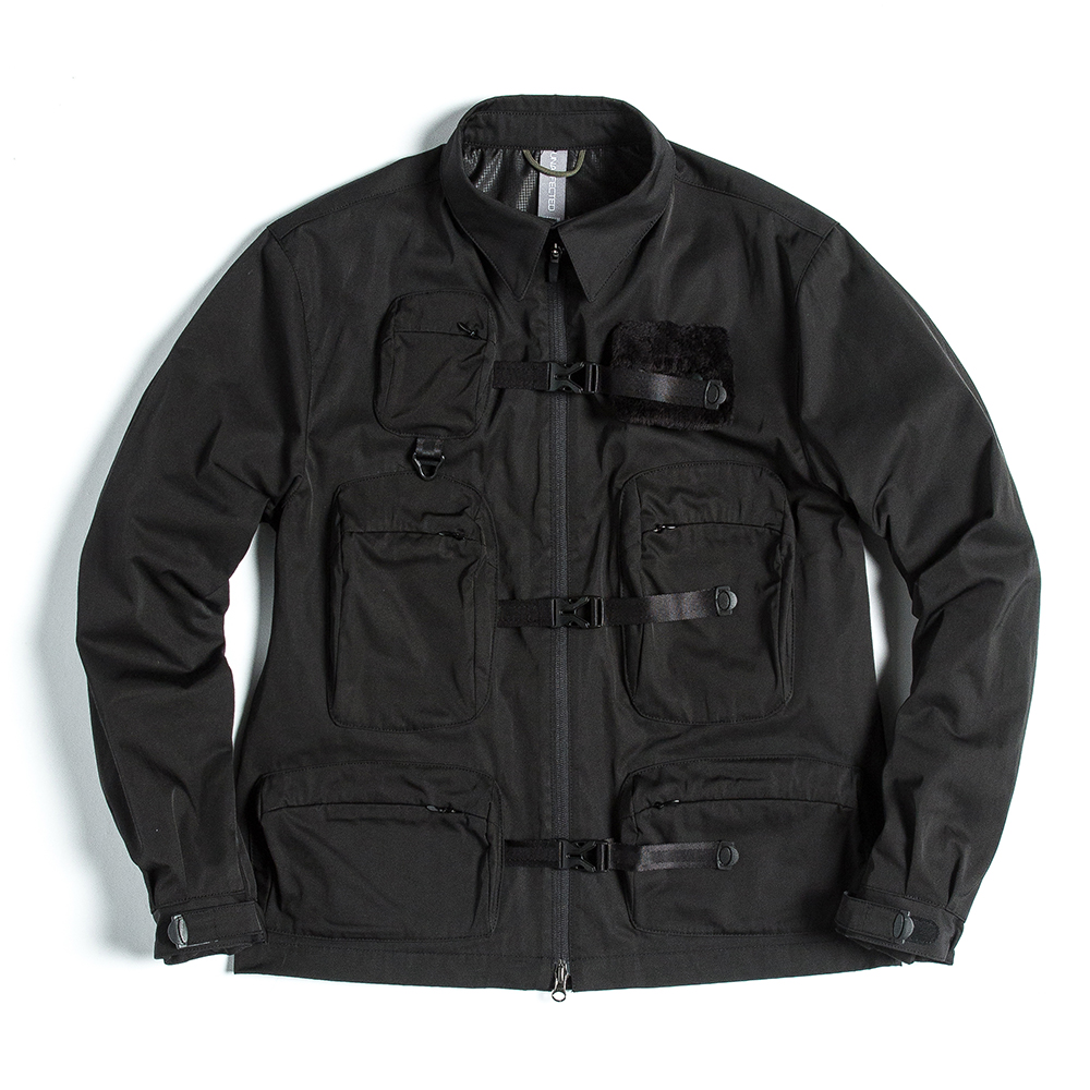 언어팩티드 UTILITY FISHERMAN JUMPER_Black