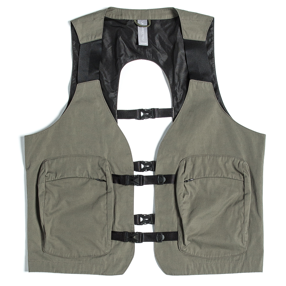 언어팩티드 UTILITY FISHERMAN VEST_Sage Green