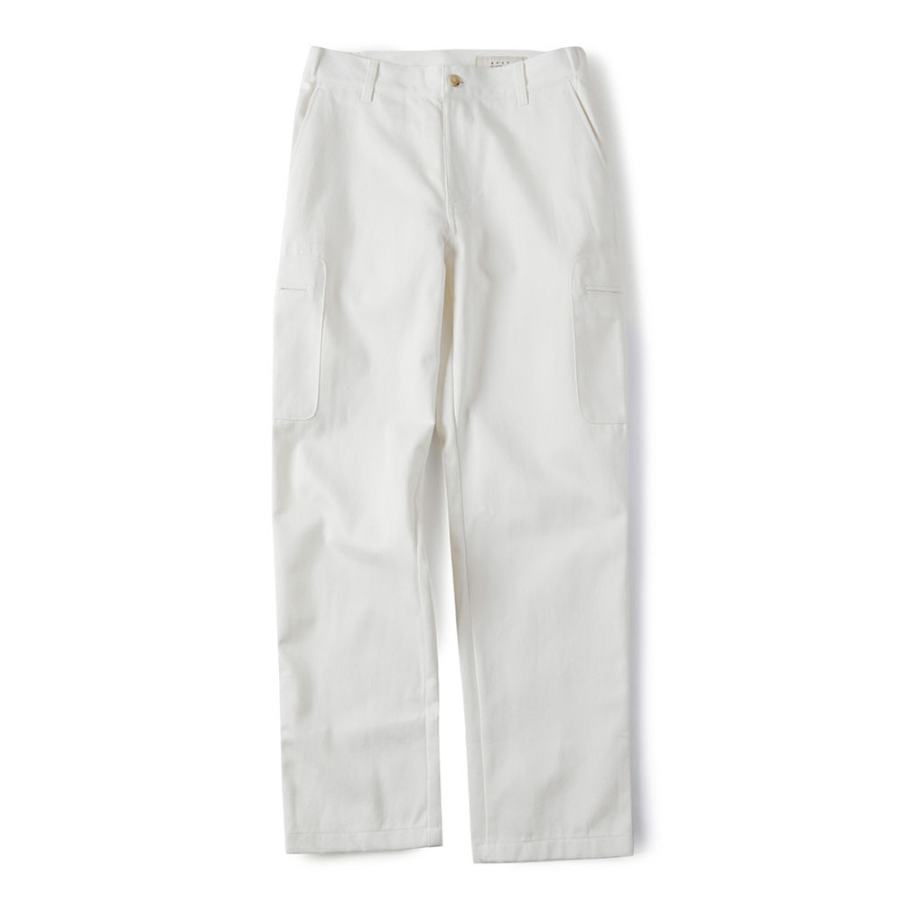 셔터 COTTON TOOL PANTS (WHITE DENIM)_White Denim