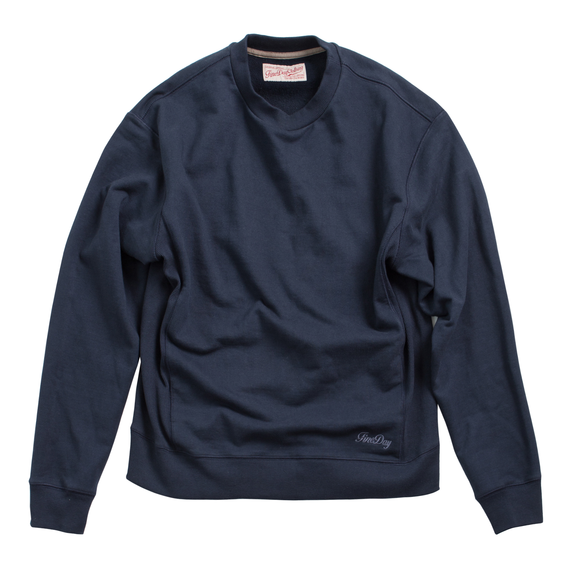 Fineday Clothing Sideribs sweat shirts_Navy