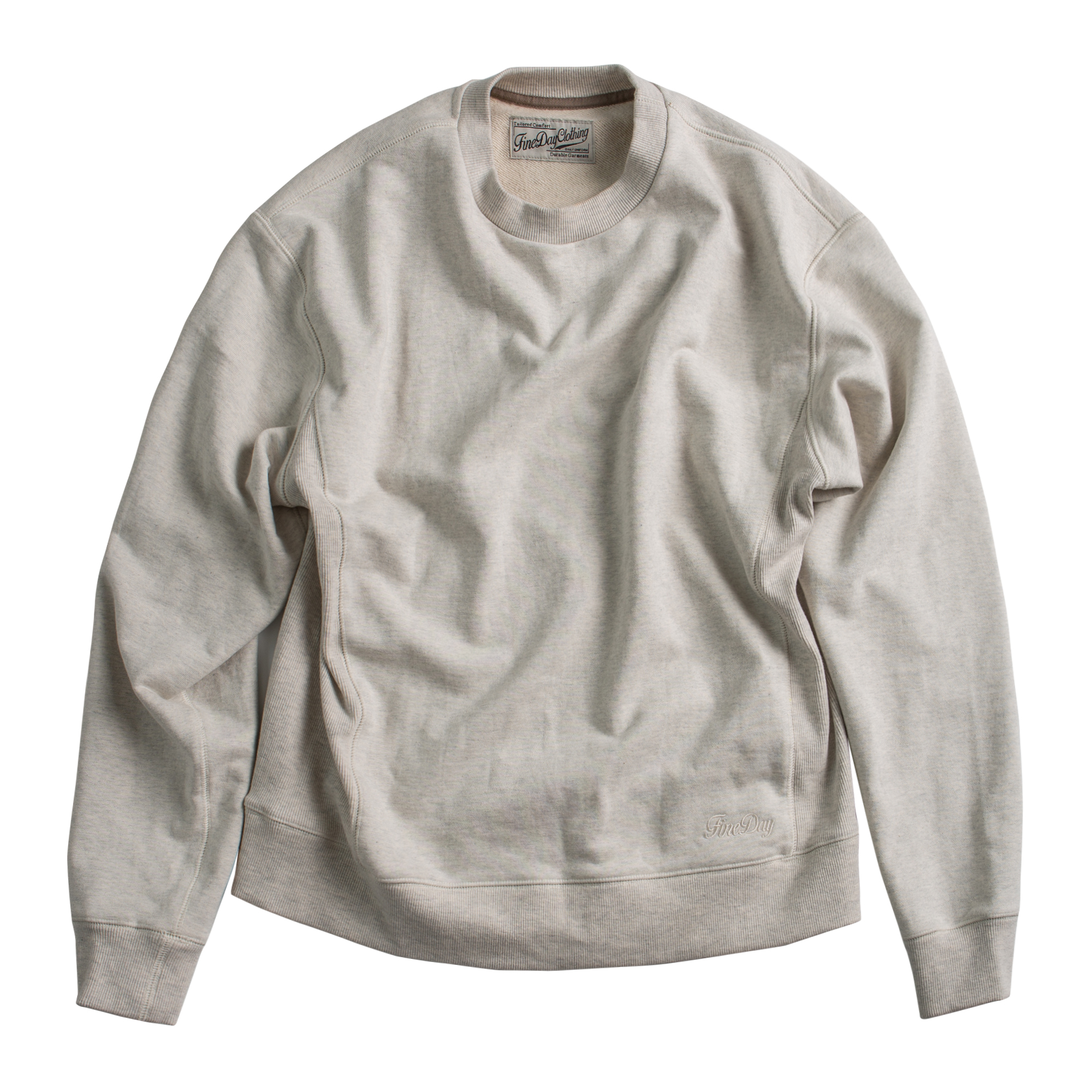 Fineday Clothing Sideribs sweat shirts_Oat
