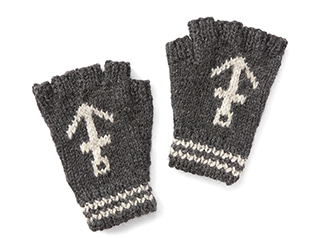 블랙쉽 Anchor Fingerless_Charcoal/Grey