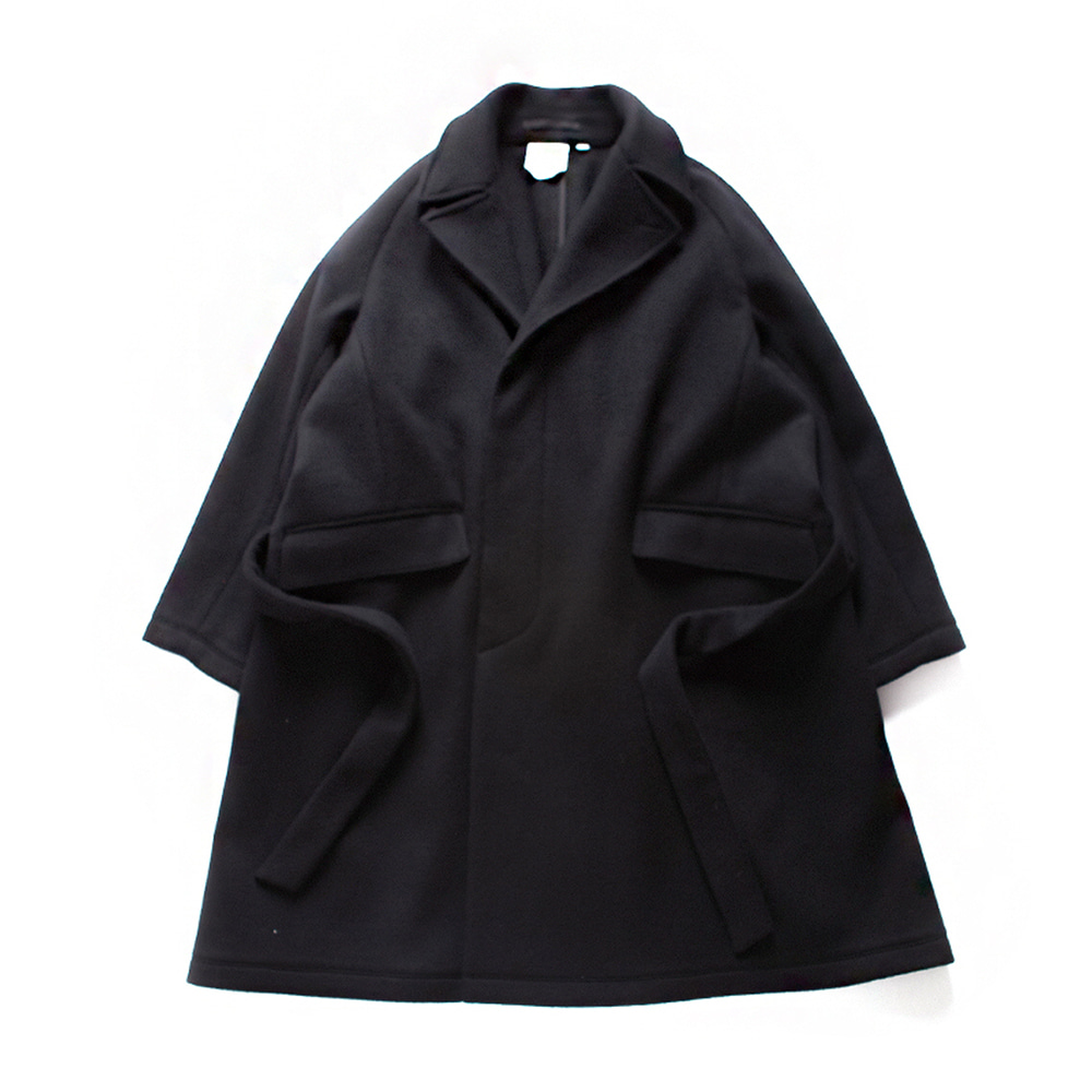 브라운야드  Robe Coat_Black