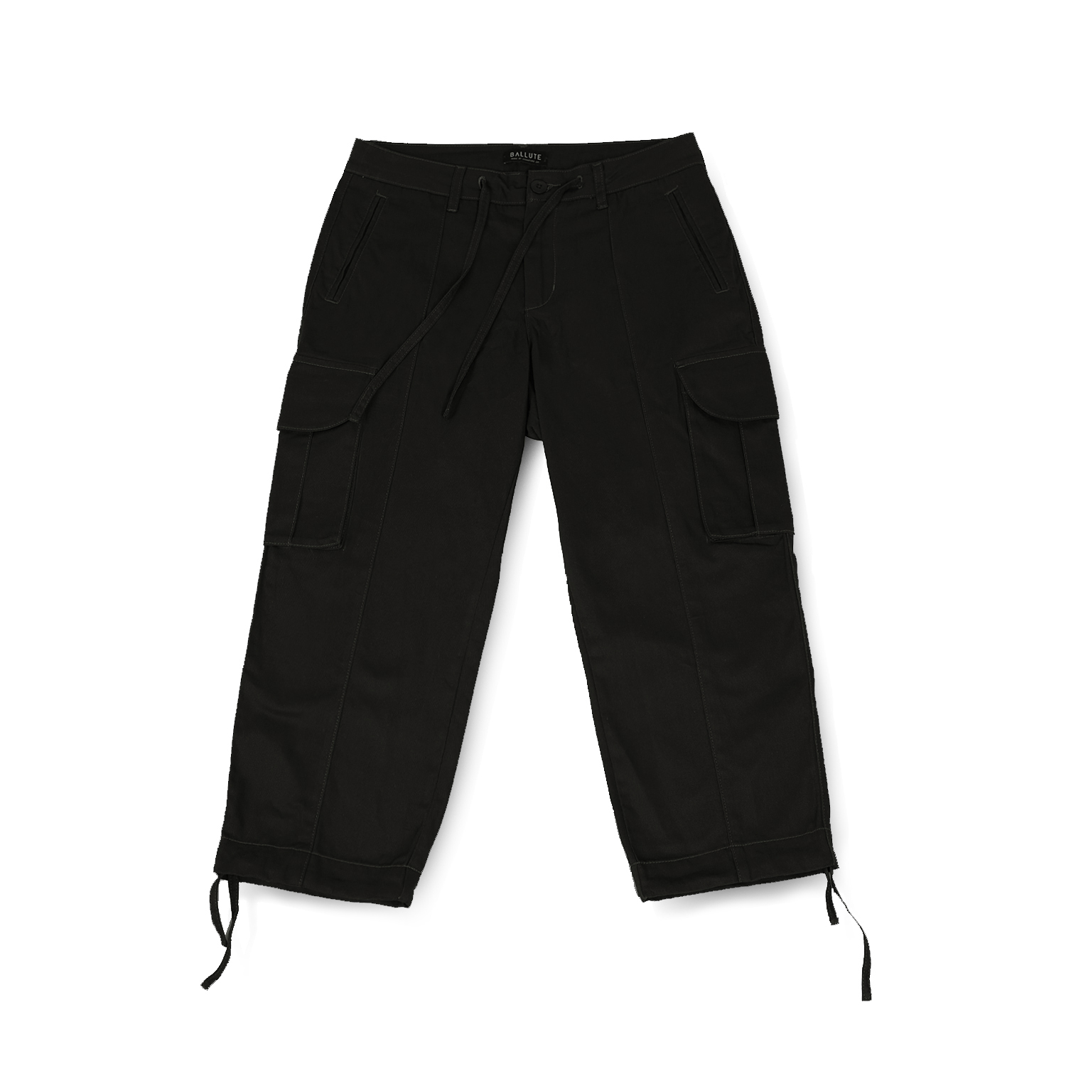 발루트 B.D.U WIDE STRING PANTS_Black