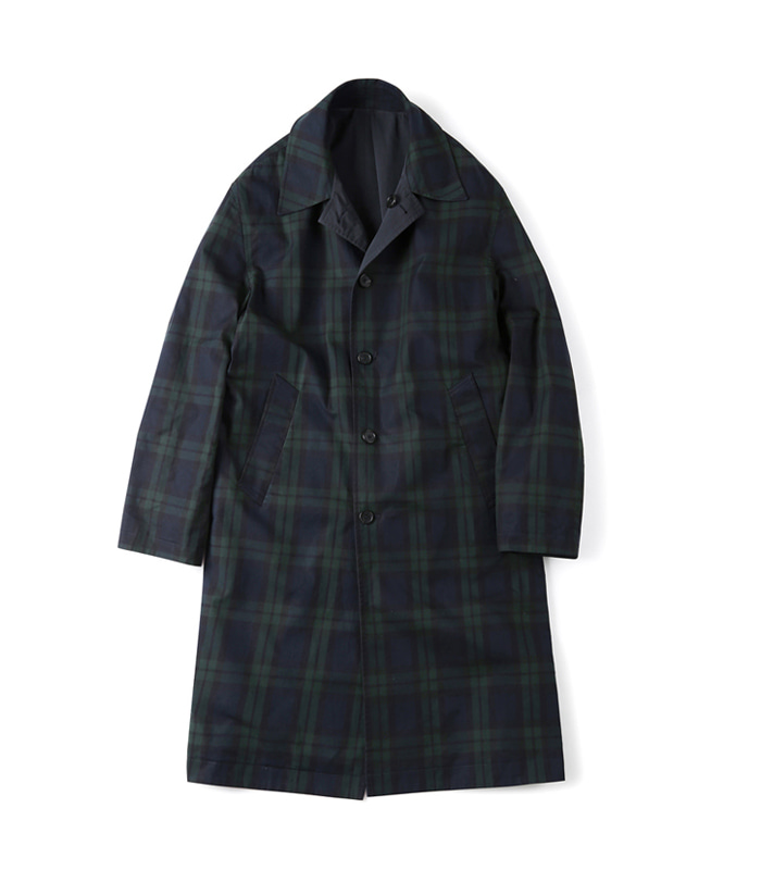 셔터 REVERSIBLE CHECK COAT_Black Watch