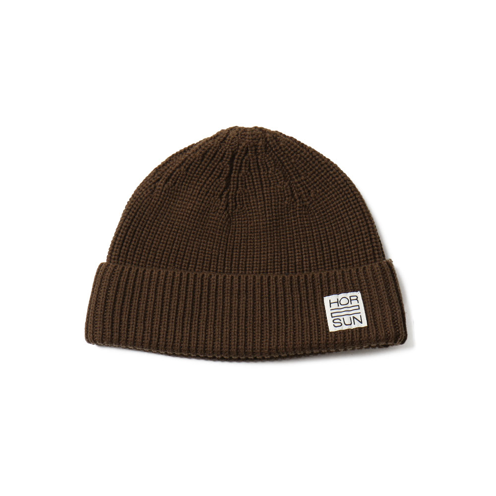 홀리선 Dearborn Knit Beanie_Dark Brown