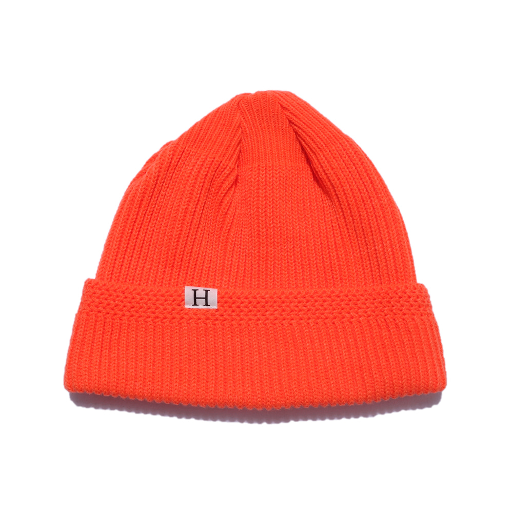 해버대셔리 H LOGO WATCH CAP_S.ORANGE