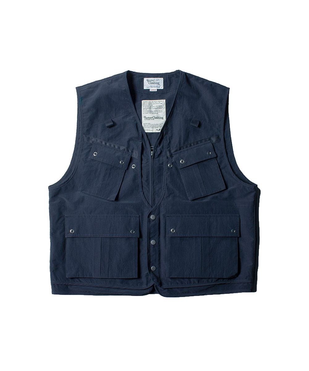 네이머클로딩 BATTLE DRESS FISHING VEST_Navy