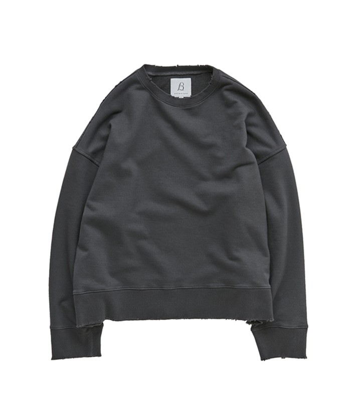 브라운야드 Damage Pullover_Grey