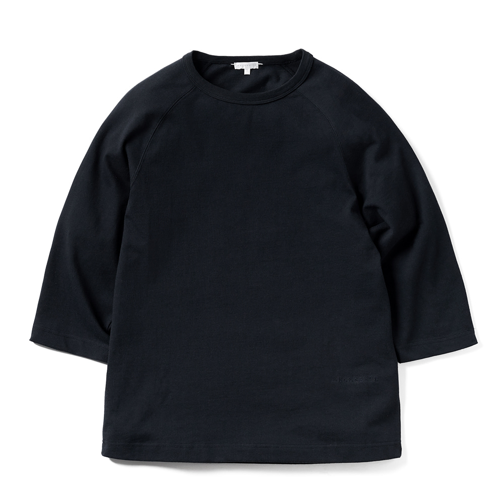 에이카화이트 LOUISE RAGLAN TEE_Deep Navy
