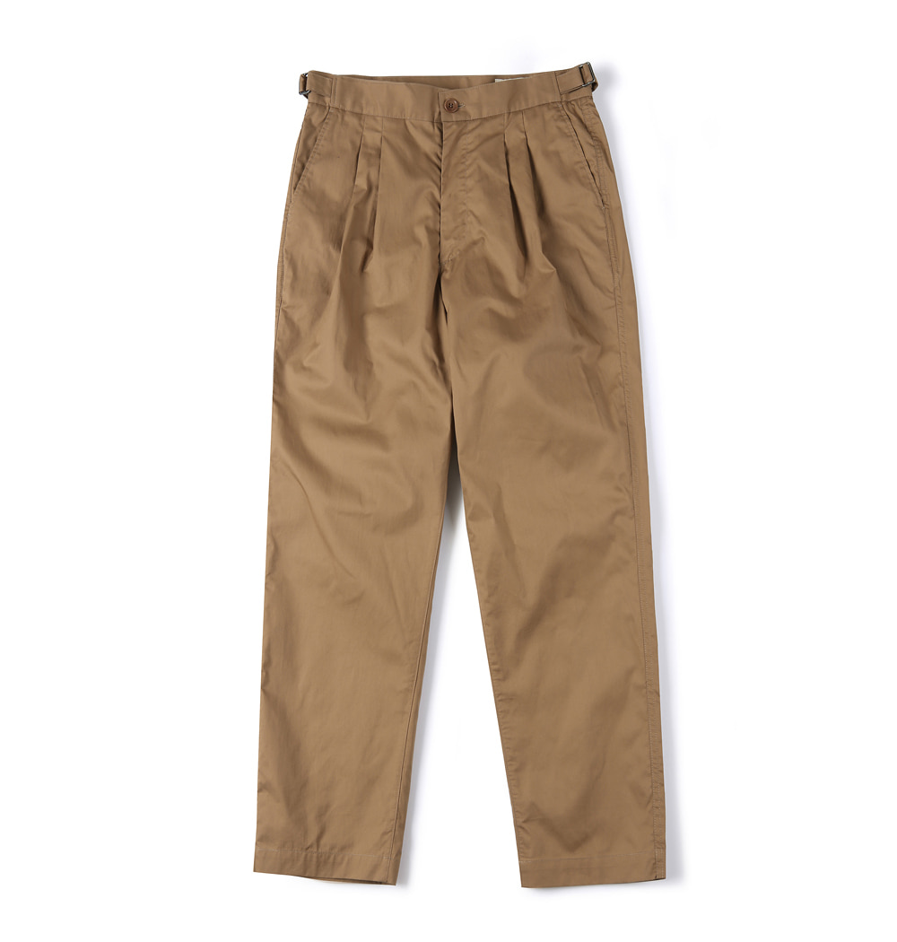 셔터 HARD WASHER COTTON PANTS_Beige