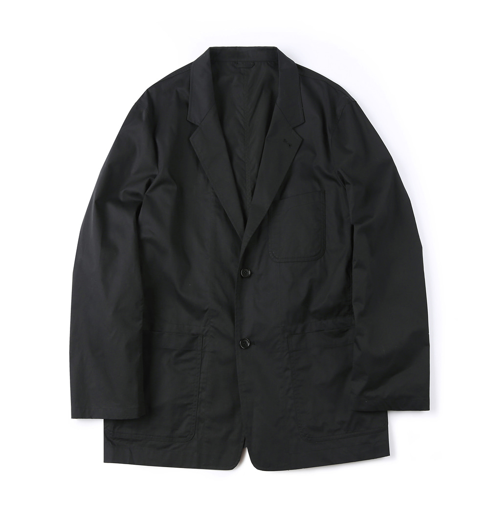 셔터 HARD WASHER COTTON JACKET_Black