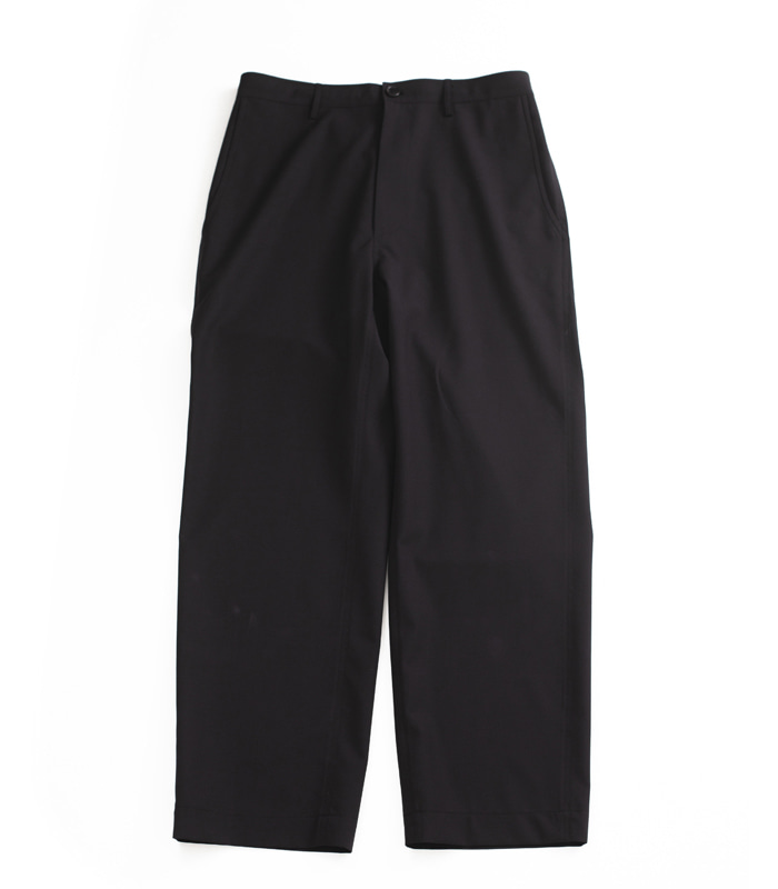 브라운야드 Wide Pants_Black