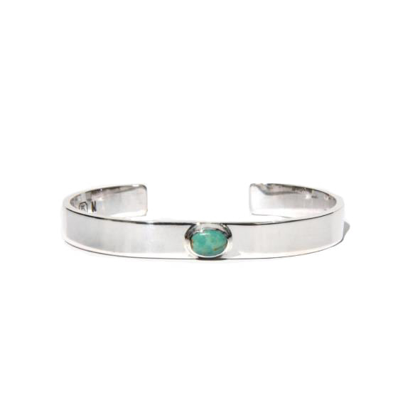 노스웍스 900SILVER TURQUOISE BANGLE (W-018)
