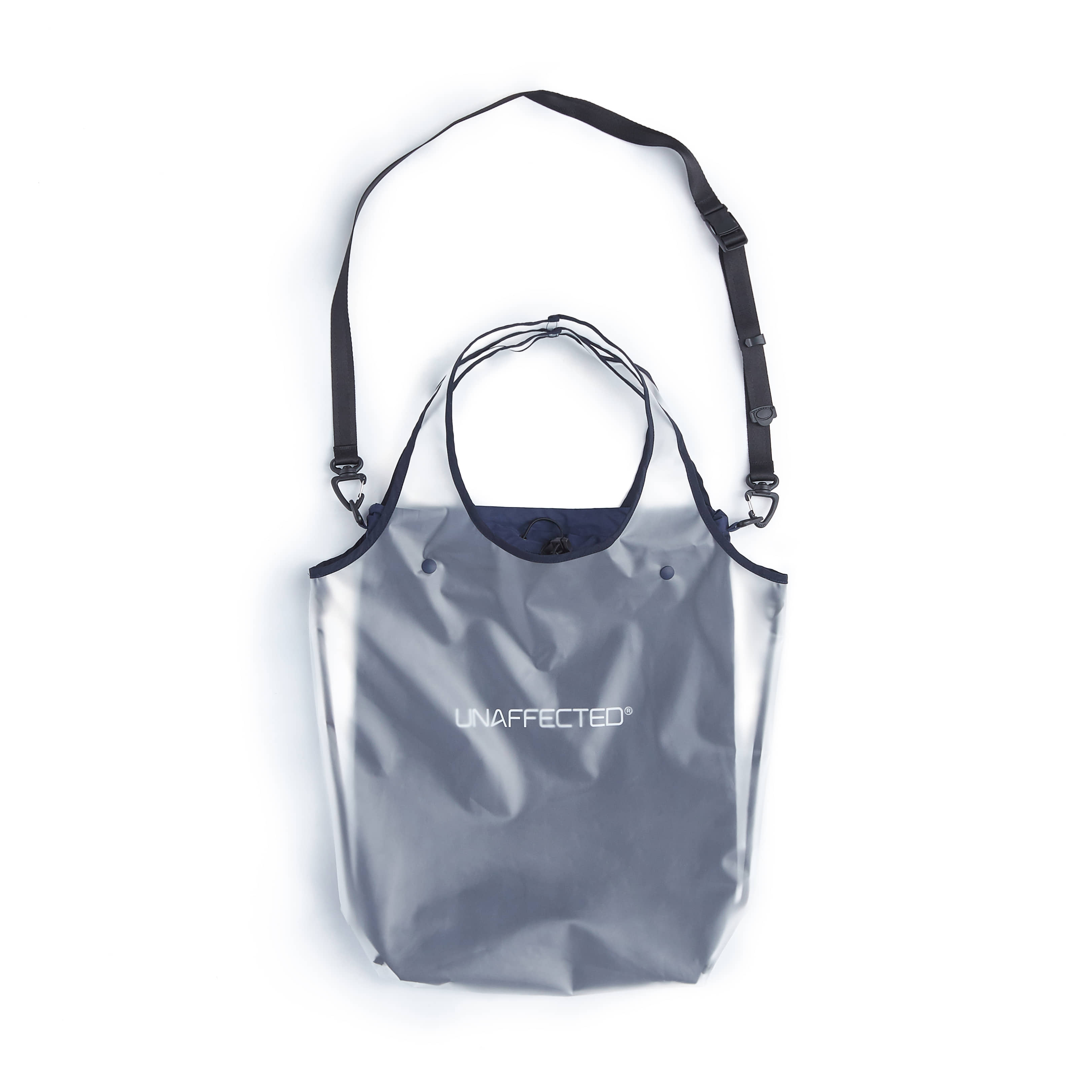 언어펙티드 UTILITY 2WAY BAG_Misty White & Navy