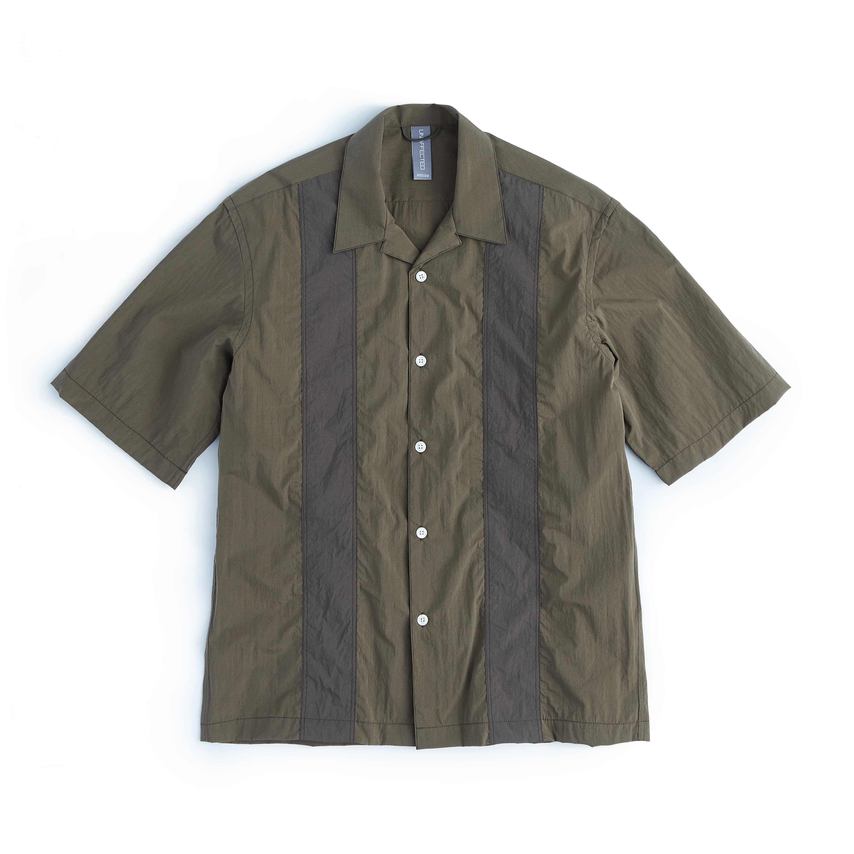 언어펙티드 COLOR BLOCKED SHIRT_Olive