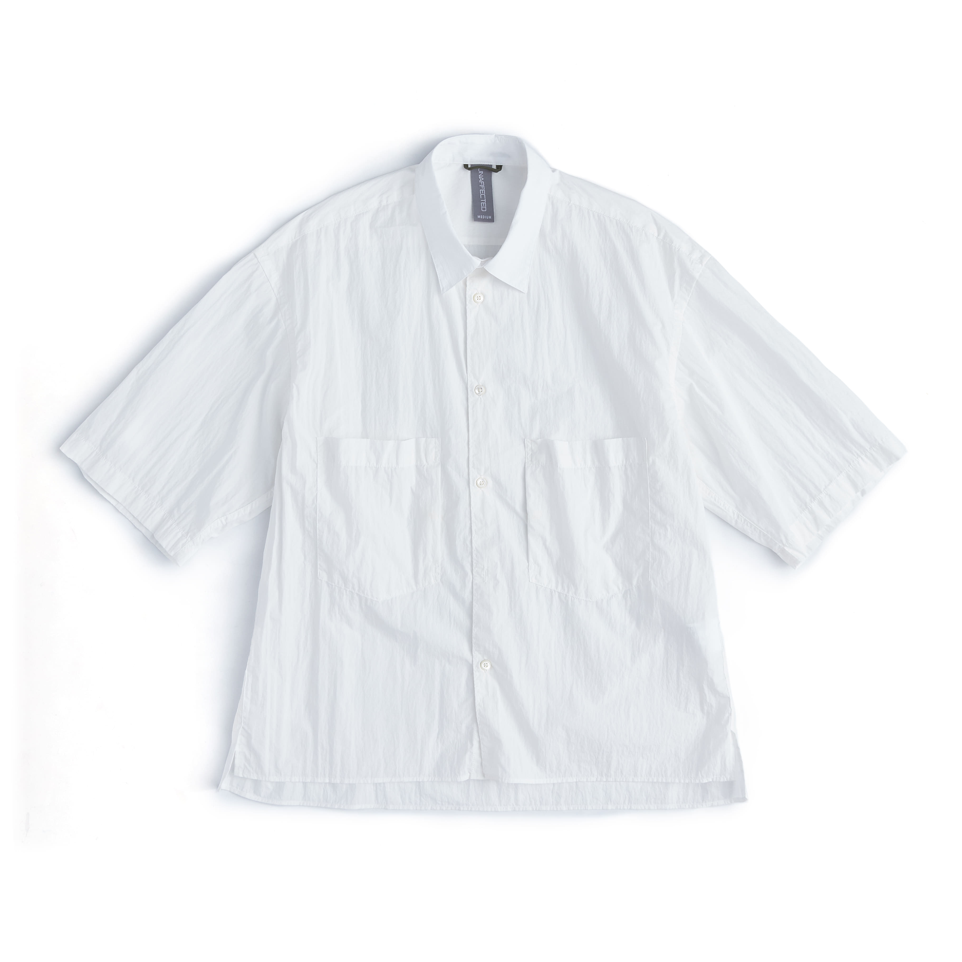 언어펙티드 OVERSIZED HALF SHIRT_Off White