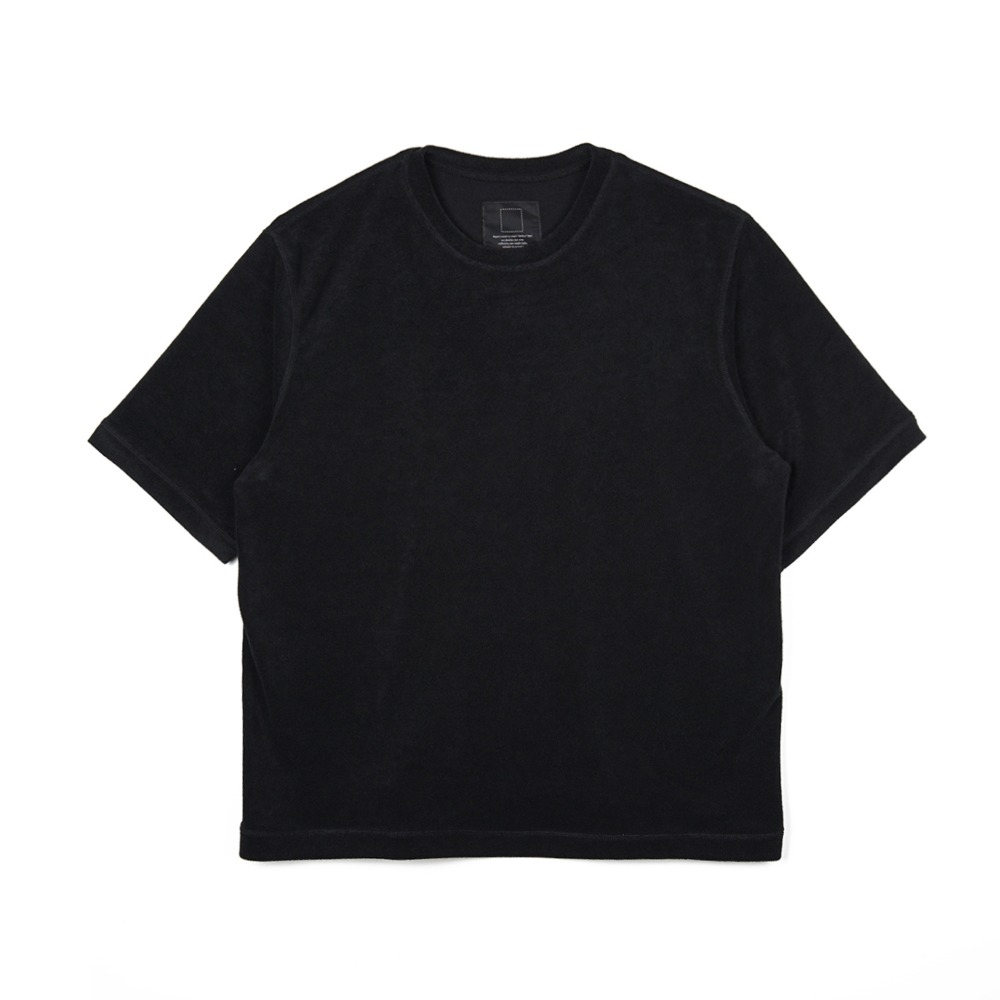 오파츠 Terry T-shirts_Black