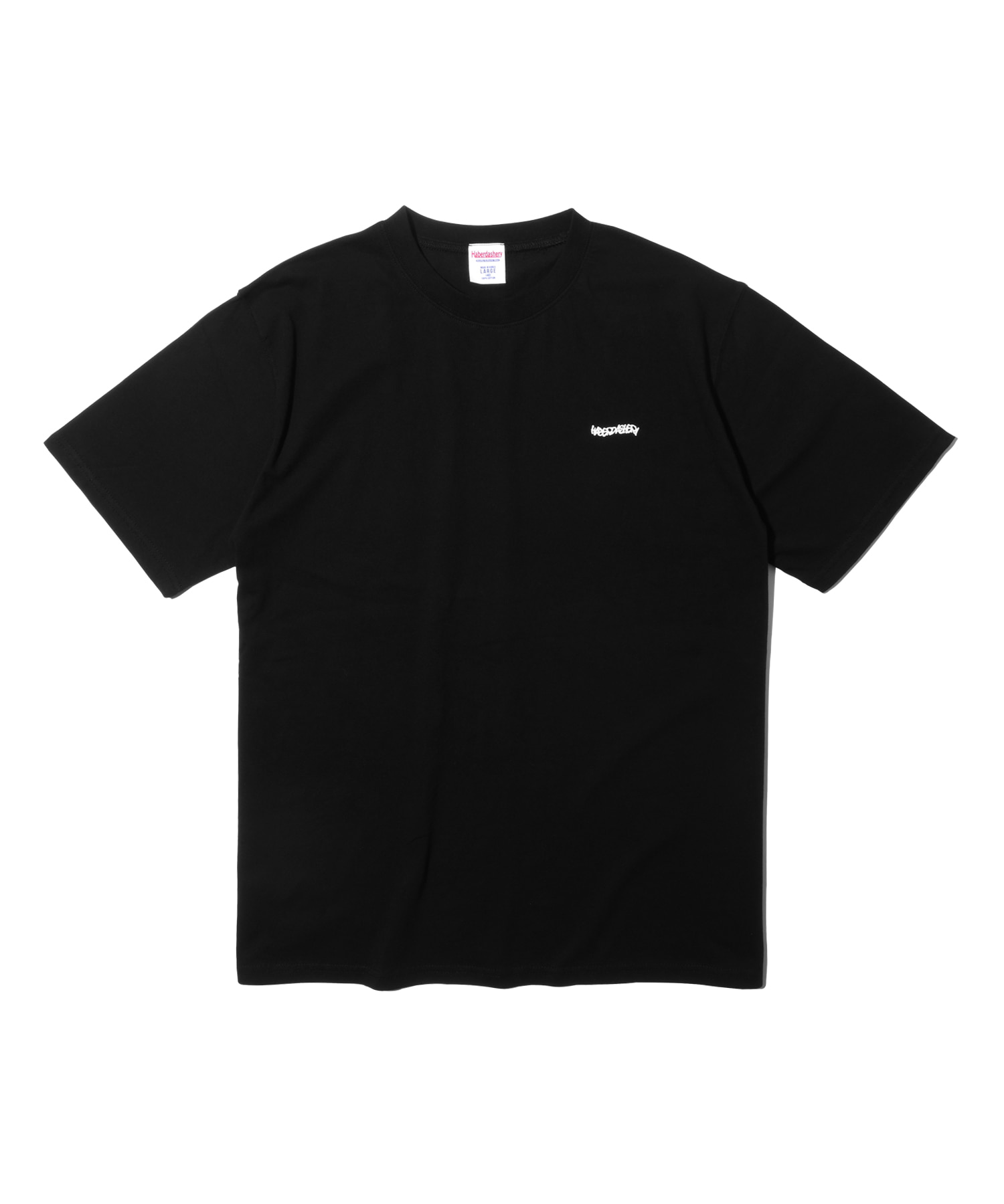 해버대셔리 WAVE SHORT SLEEVE_Black
