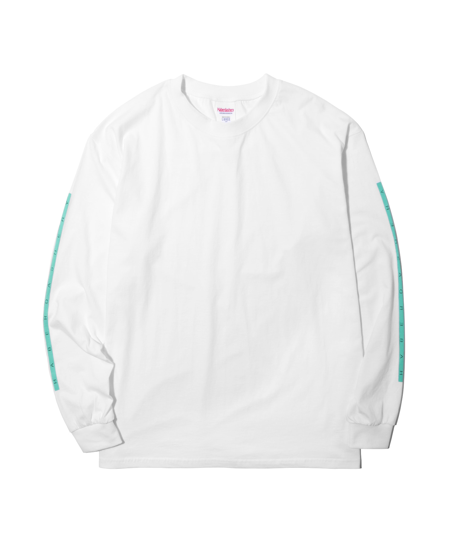 해버대셔리 BOX LONG SLEEVE_Neon Green