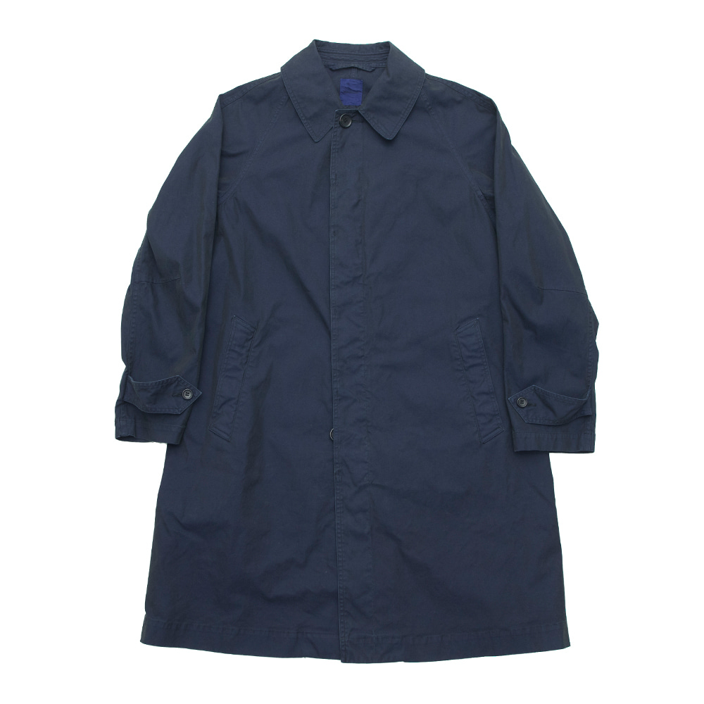 SAGE DE CRET Convertible collar coat_Navy
