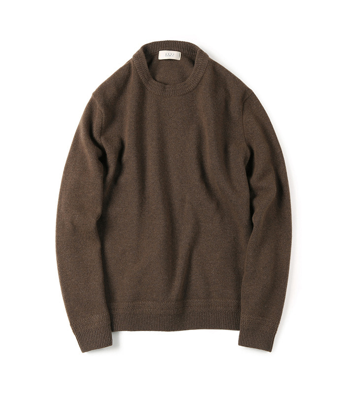셔터 TASMANIA WOOL CASHMERE KNIT (Brown)