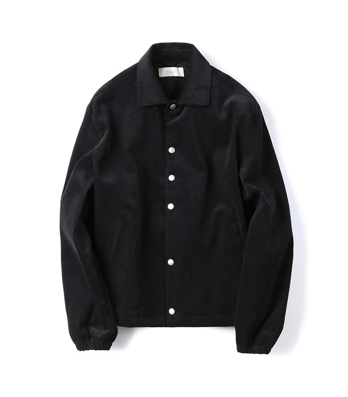 셔터 CORDUROY JACKET (Black)
