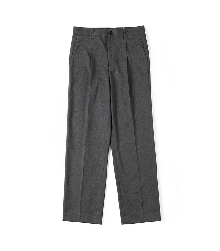 셔터 CINCH-BACK LOOSE FIT PANTS (Dark grey)