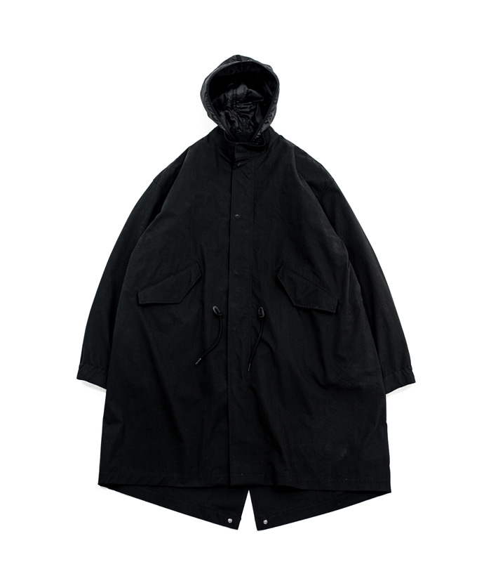 브라운야드 Essential Parka_Black