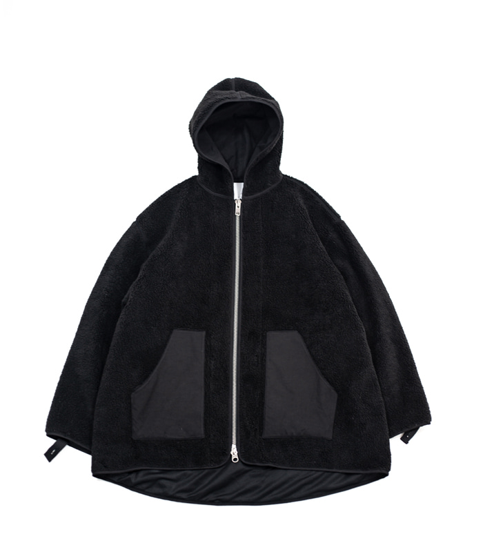 브라운야드 Fleece Jumper_Black